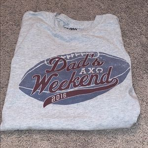 AXO dads weekend tee